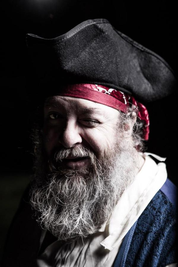 Portrait of the author as a pirate... (Nathan Carter / Avidchick)