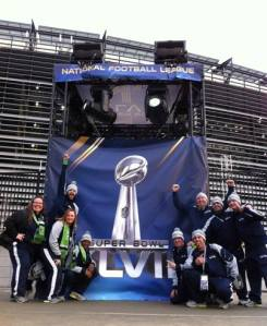 Make that...Your Super Bowl Champion Seattle Seahawks